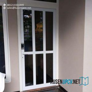 contoh pintu upvc swing warna putih dari conch id8427