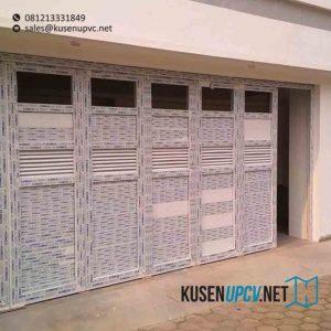 contoh pintu upvc model folding untuk garasi