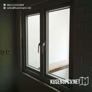 kusen jendela upvc conch warna putih