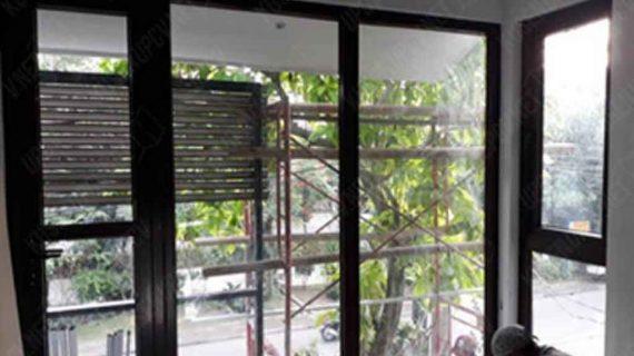 Pemasangan Pintu Dan Jendela UPVC Conch Di Bintaro Sektor 2