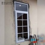 Pasang Jendela UPVC Model Swing Warna Putih di Perumahan Teladan Fatmawati