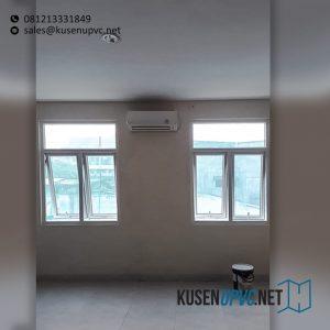 Custom Jendela UPVC Warna Putih Rumah Sakit Kramat 128 Senen Jakarta Id6369
