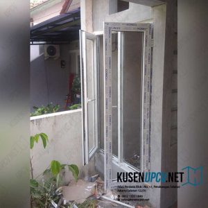 Custom Jendela UPVC Warna Putih Taman Soka Palem Semi Karawaci Tangerang