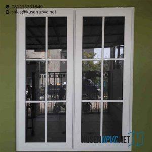 Jendela UPVC Jungkit Warna Putih Taman Asri Lama Larangan Tangerang id5856