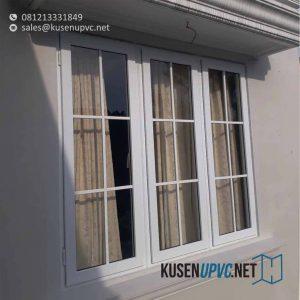 Jendela UPVC Swing Warna Putih kemang utara Mampang Prapatan Jakarta id5694