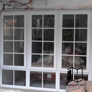 Jual Jendela UPVC Warna Putih di Pondok Aren Tangerang id5686