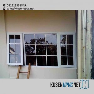 jendela UPVC Warna Putih Simprug Kebayoran Lama Jakarta id5836