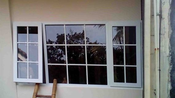 Jual jendela UPVC Warna Putih Simprug Kebayoran Lama Jakarta