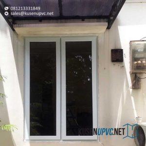 Jual Jendela UPVC Warna Putih Gondangdia Menteng Jakarta id6148