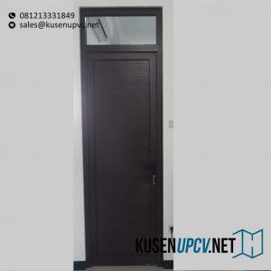 Jual Pintu UPVC Swing Cokelat Perum Taman Mulia Kalimulya Cilodong Depok ID5734