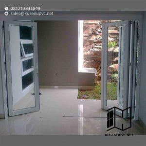 Jual Pintu UPVC Warna Putih Klien Gandaria City Kebayoran Lama Jakarta id5884