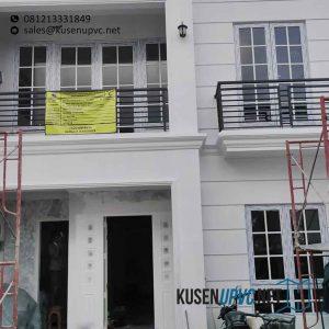 Jual Jendela UPVC Swing Putih Project Kebon Jeruk Jakarta Id6166