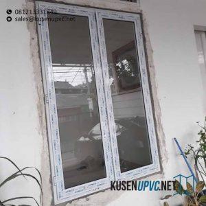 Harga jendela UPVC Putih Pembina Raya Palmeriam Matraman Jakarta Id6218