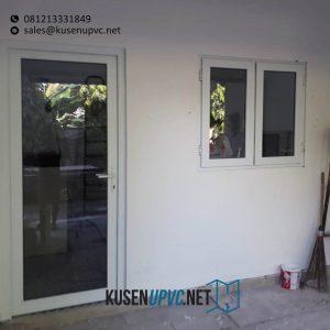 Jual Pintu UPVC Swing Putih Flamboyan Cinere Depok ID6338