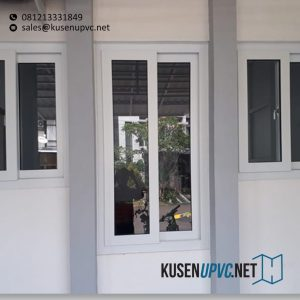 Jual Jendela UPVC Conch Sliding Putih Cluster Emerald Terrace Bintaro Pondok Aren Tangerang Id6366