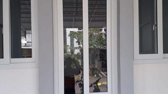 Jual Jendela UPVC Conch Sliding Putih Cluster Emerald Terrace Bintaro Pondok Aren Tangerang