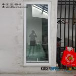 Jendela UPVC Murah Jungkit Putih Panda Raya Pladen Pondok Ranji Ciputat Timur