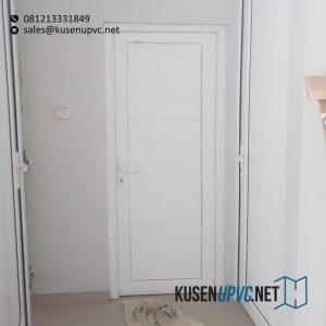 Jual Pintu UPVC Putih Pondok Ranggon Cipayung Jakarta Id5928