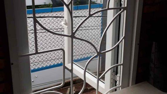 Harga Jendela UPVC Swing Putih Perumahan Permata Cimanggis Cluster Onyx Tapos Depok