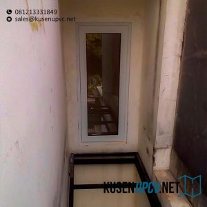 Jendela UPVC Jungkit Putih Rawa Buntu Bayu Kencana Serpong Tangerang ID5657