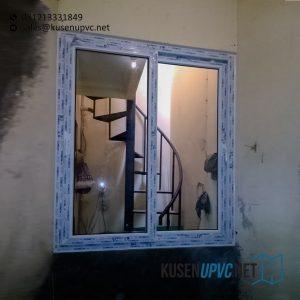 Jendela UPVC Sliding Putih Perumahan Nuansa Asri Cipadu Pondok Aren Tangerang ID6585